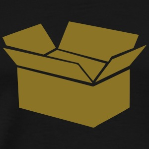 cardboard box drawing 0 T-Shirts - Men's Premium T-Shirt
