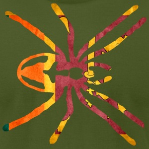 SRI LANKA SPIDER FLAG T-Shirts - Men's T-Shirt by American Apparel