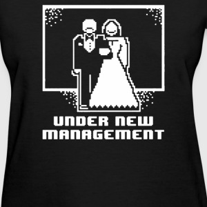 Pixel Wedding Under New Management - Women's T-Shirt