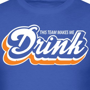 Dolphins This Team Makes Me Drink - Men's T-Shirt