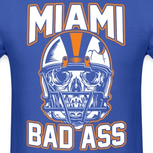miami bad ass - Men's T-Shirt
