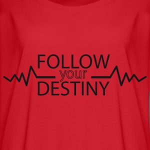 Follow your destiny - Women's Flowy T-Shirt
