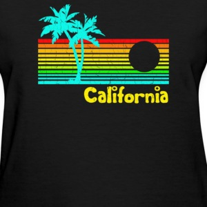 1980s Vintage Retro Calif - Women's T-Shirt