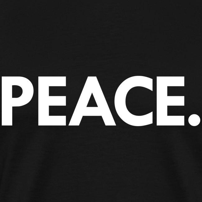 Peace t-shirt   black