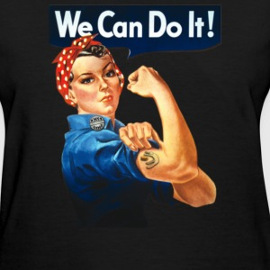 FM Rosie We Can Do It - Women's T-Shirt