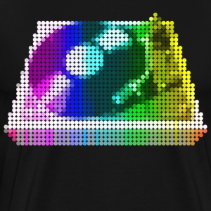 Turntable Mosaic - Men's Premium T-Shirt