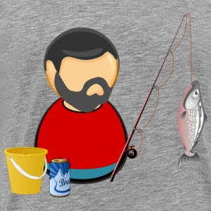 Fisherman / angler - Men's Premium T-Shirt