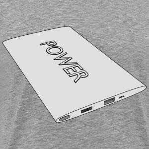 3D power bank - Men's Premium T-Shirt