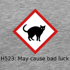 Black cat hazard - Men's Premium T-Shirt