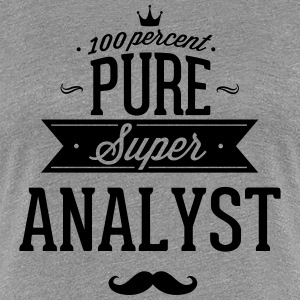 100 percent pure super analyst T-Shirts - Women's Premium T-Shirt