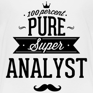 100 percent pure super analyst Baby & Toddler Shirts - Toddler Premium T-Shirt