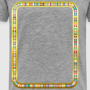 Colorful Tracks 3 - Men's Premium T-Shirt