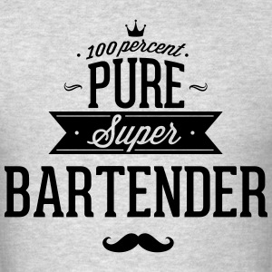 100 percent pure super bartender T-Shirts - Men's T-Shirt