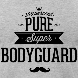 100 percent pure super bodyguard T-Shirts - Men's T-Shirt by American Apparel