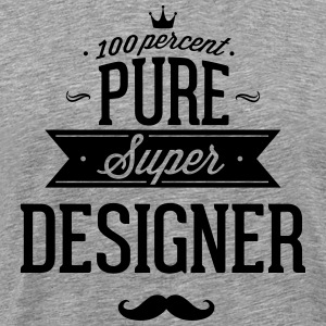 100 percent pure super designer T-Shirts - Men's Premium T-Shirt
