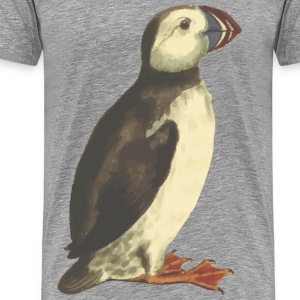 Puffin (isolated) - Men's Premium T-Shirt