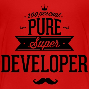 100 percent pure super developer Baby & Toddler Shirts - Toddler Premium T-Shirt