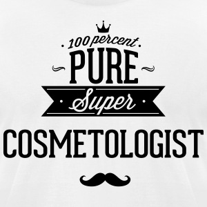 100 percent pure super cosmetologist T-Shirts - Men's T-Shirt by American Apparel