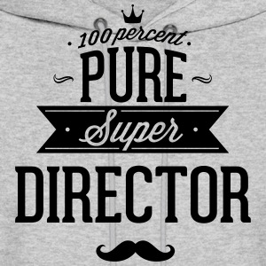 100 percent pure super director Hoodies - Men's Hoodie