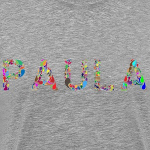 Paula Typography - Men's Premium T-Shirt