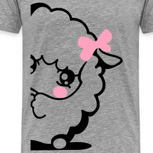 Shy Lamb Icon - Men's Premium T-Shirt