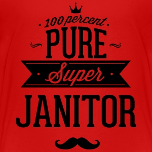 100 percent pure super janitor Baby & Toddler Shirts - Toddler Premium T-Shirt