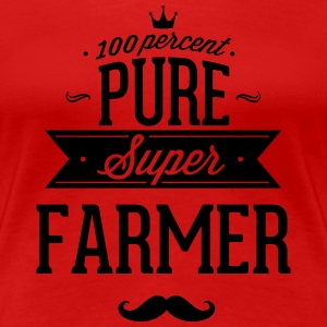 100 percent pure super farmer T-Shirts - Women's Premium T-Shirt