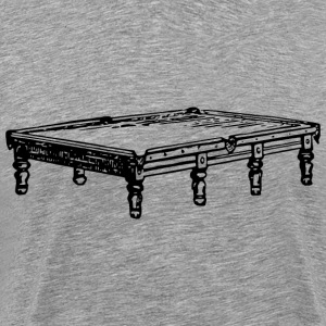 Snooker table - Men's Premium T-Shirt