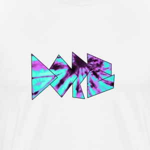 Blue & Purple Dope logo T-shirt - Men's Premium T-Shirt