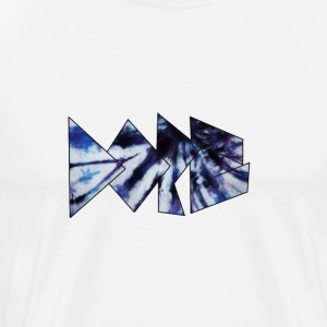 Blue & White Dope logo T-Shirt - Men's Premium T-Shirt