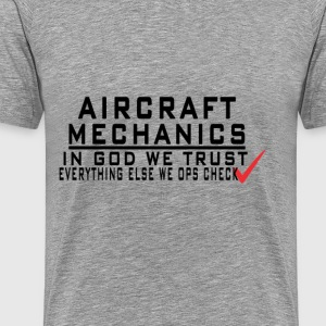 Aircraft - Men's Premium T-Shirt