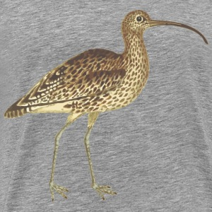 Curlew (isolated) - Men's Premium T-Shirt
