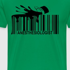 radiation_therapist_barcode_ - Men's Premium T-Shirt