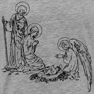 Classic Nativity - Men's Premium T-Shirt