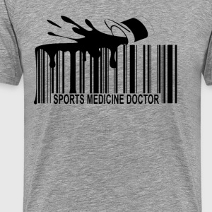 sports_medicine_doctor_barcode_ - Men's Premium T-Shirt