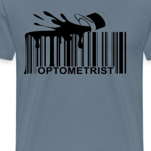 optometrist_barcode_ - Men's Premium T-Shirt