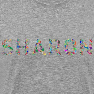 Sharon Typography - Men's Premium T-Shirt