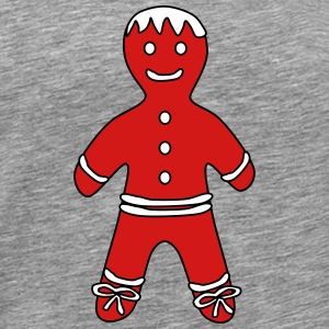 Gingerbread Boy - Men's Premium T-Shirt