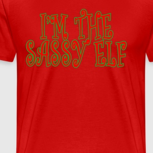 im_sassy_elf_tee_ - Men's Premium T-Shirt