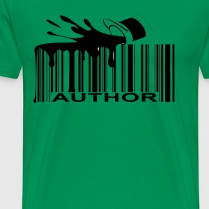 author_barcode_ - Men's Premium T-Shirt