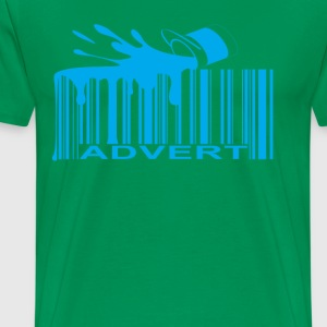 advert_barcode_ - Men's Premium T-Shirt