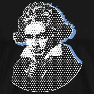 Beethoven in Dots bse T-Shirts - Men's Premium T-Shirt