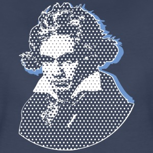 Beethoven in Dots bse T-Shirts - Women's Premium T-Shirt