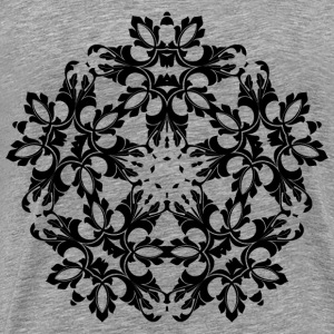Ornamental Flourish Design 2 - Men's Premium T-Shirt