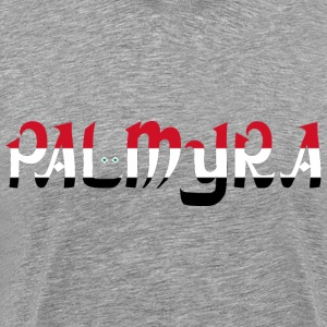 Palmyra Typography - Men's Premium T-Shirt