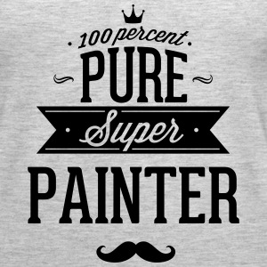 100 percent pure super painter Tanks - Women's Premium Tank Top