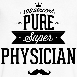 100 percent pure super physician T-Shirts - Men's V-Neck T-Shirt by Canvas