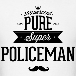 100 percent pure super policeman T-Shirts - Men's T-Shirt