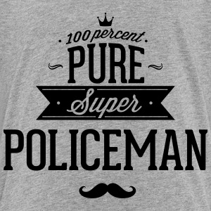 100 percent pure super policeman Baby & Toddler Shirts - Toddler Premium T-Shirt
