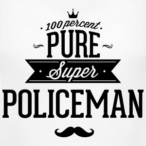 100 percent pure super policeman T-Shirts - Women's Maternity T-Shirt